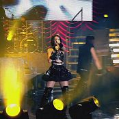 Rihanna Tour Black Latex Parts new 020415110avi 00006