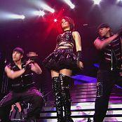 Rihanna Tour Black Latex Parts new 020415110avi 00010