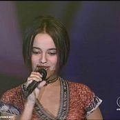 Alizee 2001 Moi Lolita The Dome HQ new 2 020415187avi 00003