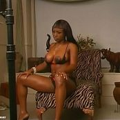 Jada Fire Sexy Black Lingerie Covershoot Video