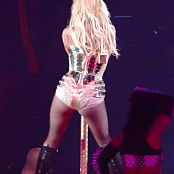 Britney Spears Circus Sexy Golden Outfit HD Video