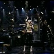 Christina Aguilera What A Girl Wants Live SNL 2000 Video
