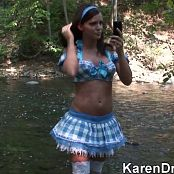 Karendreams Sexy At The River HD Video