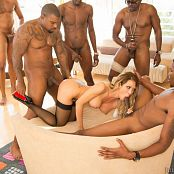 Capri Cavanni Interracial Gangbang Black Owned 7 Picture Set