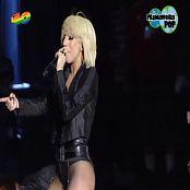 Lady Gaga Poker Face Live Primera Pop 2009 Video
