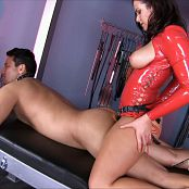 Keisha Grey Red Latex Dominatrix Strap On Fuck HD Video
