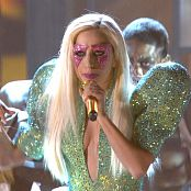 Lady Gaga Poker Face Live 52nd Annual Grammy Awards 2010 HD Video