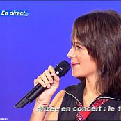 Alizee A Contre Courant Live Star Academy 2004 Video