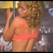 Christina Applegate Sexy Stripper Kiss of Fire Video