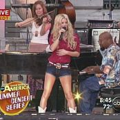 Jessica Simpson These Boots Are Made For Walking Live GMA 2005 Video