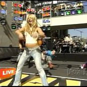 Britney Spears Toxic Live OnAir with Ryan Seacrest Feb 11 2004 new 130615 avi