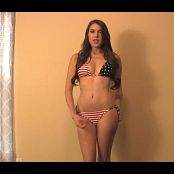 Brittany Marie 4th July Bikini Tease HD mp4