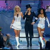 Britney Spears Medley Feat Christina Aguilera Live VMA 2003 new 150715 avi