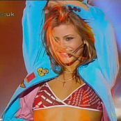 Holly Valance Down Boy Live CDUK 2002 Video