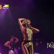 Britney Spears Oops Live Sexy Golden Latex 2000 new 190715 avi