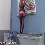 Young Gusel Pink Shiny Catsuit 203 04 yya wmv