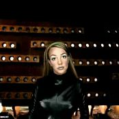 Britney Spears Oops Shiny Black Latex Catsuit Edit Video