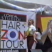 Britney Spears Thinkin Of You Hair Zone Tour new 070815 avi