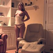 Sherri Chanel White Lingerie Gold Pasties Bonus115 mp4