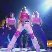 Britney Spears crazy and bomt live 1999 all access pink top new 220815 avi