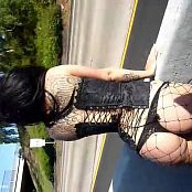 julia bond strip on street new 220815 avi