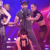 Britney Freakshow Sexy Shiny Outfit Live new 251015 avi