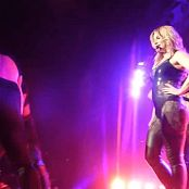 Britney Spears Shiny Black Dominatrix Outfit HD Video