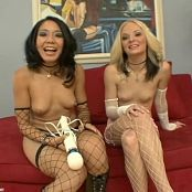 Faye Runaway & Keeani Lei Cute Young Porn Sluts Interview Video