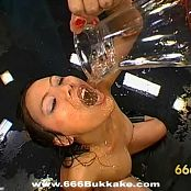Crazy Asian Whore Piss Bukakke Orgy Video