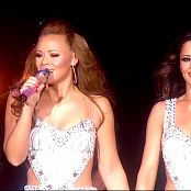 Girls Aloud Sexy Live Sparkling Silver Dresses OOC Tour HD Video