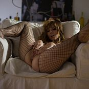 Ariel Rebel Exquisite Black Fishnet Bodysuit 003