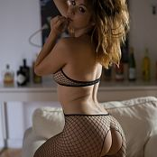 Ariel Rebel Exquisite Black Fishnet Bodysuit 007