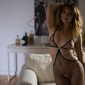 Ariel Rebel Exquisite Black Fishnet Bodysuit 008