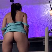 Andi Land At The Bar HD Video