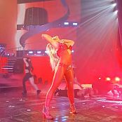 Britney Spears Oops Live Vegas Red Devil Costume HD Video