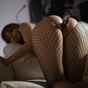 Ariel Rebel Exquisite Black Fishnet Bodysuit 006