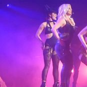 Britney Spears Shiny Rubber Outfit POM Live HD Video