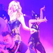 Britney Spears Freakshow December 30 HD 1080P Sexy Shiny Rubber Outfit new 211115 avi