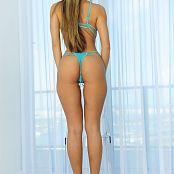 KTso Pretty Turquoise Lingerie Loyal Plus Set 805 008
