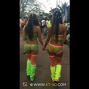 KTso and Sweet Kimberly Sexy Rave Girls at Ultra 2015 Video 001