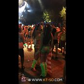 KTso and Sweet Kimberly Sexy Rave Girls at Ultra 2015 Video 003