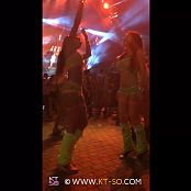 KTso and Sweet Kimberly Sexy Rave Girls at Ultra 2015 Video 007