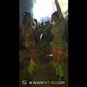 KTso and Sweet Kimberly Sexy Rave Girls at Ultra 2015 Video 009