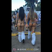 KTso and Sweet Kimberly Sexy Rave Girls at Ultra 2015 Video 012
