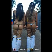 KTso and Sweet Kimberly Sexy Rave Girls at Ultra 2015 Video 013