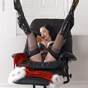 Dita Von Teese Christmas Tease 2015 Picture Set