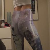 Kalee Carroll Starwars Yoga Pants Twerking Video 004