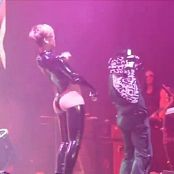 Rihanna Sexy Latex Outfit Live Performance Video