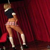 Teen Kasia Pole Dancing Schoolgirl Video