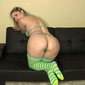 Sherri Chanel Striped Thigh Highs Downloaded 2016 01 25 11 03 15 250116 mp4